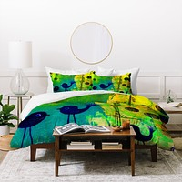 Sophia Buddenhagen I Can Hear You Duvet Cover