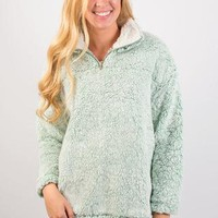 Cozy First Pullover - Mint