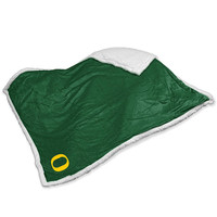 Oregon Ducks NCAA Soft Plush Sherpa Throw Blanket (50in x 60in)