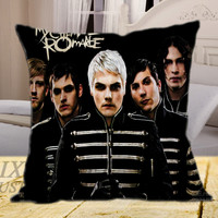 My Chemical Romance Cover Album on square pillow cover 16inch 18inch 20inch