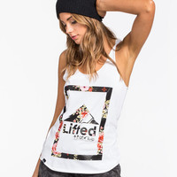Lrg Lifted Box Womens Tank White  In Sizes