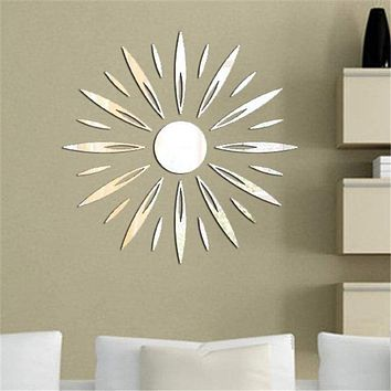 3D DIY Wall Detachable Decorative Mirrors