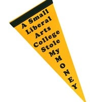College Theft Liberal Arts Pennant
