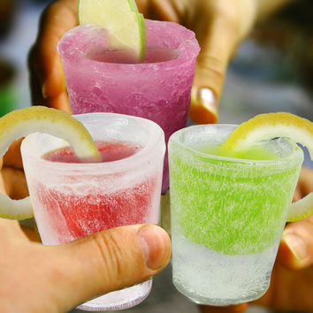 Ice Cold Shot Glass Molds