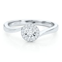 1/6 ct. tw. Diamond Promise Ring in 10K Gold - Promise Rings - Rings - Jewelry - Helzberg Diamonds