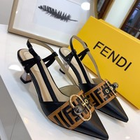 Fendi Fashion Women  Casual Running Sport Shoes Sneakers Slipper Sandals High Heels Shoes