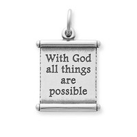 """""""All Things Are Possible"""" Scroll 