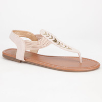 CELEBRITY NYC Chevron Womens Sandals | Sandals