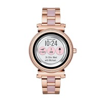 Michael Kors Access Women's 'Sofie Touchscreen' Quartz Stainless Steel Casual Watch, Color Rose Gold-Toned (Model: MKT5041)
