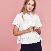 Lazy Oaf Food Button Shirt - Clothing - NEW IN - Womens