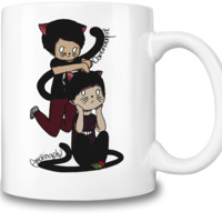 Neko Dan & Phil Coffee Mug