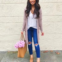 Spool + Free People Distressed Jeans