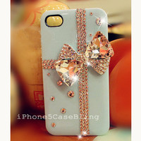 iPhone 4 Case, iPhone 5 Case, Bling iPhone 4 case, Cute iPhone 4 case, Cute iphone 5 case, iphone 5 bling case, Bling iPhone 5 case bow