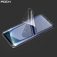 3D Curved Soft Hydrogel Screen Protector For Samsung Galaxy S8 8 Plus, Rock 0.18MM Slim Full Coverage Film For Galaxy S8 Plus