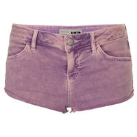 MOTO Lilac Acid Wash Hotpants - New In This Week  - New In