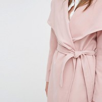 J.D.Y Wrap Coat at asos.com