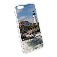 Portland Head Lighthouse ME - Atlantic Shore Snap On Hard Protective Case for Apple iPhone 6