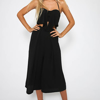 House Of Cards Jumpsuit - Black