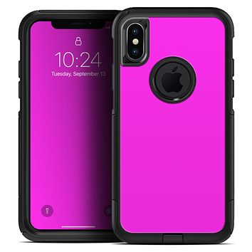 Solid Hot Pink V2 - Skin Kit for the iPhone OtterBox Cases