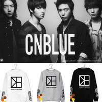 CNblue Kpop Hoodie Younghwa Sweater  Pullover Sweatershirt New One Fine Day