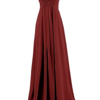 Dresstells® Sweetheart Bridesmaid Chiffon Prom Dresses Long Evening Gowns for Juniors Size 4 Lavender