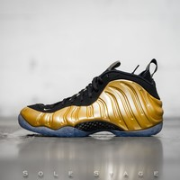 spbest Air Foamposite One Metallic Gold