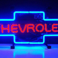 Chevrolet Bowtie Neon Sign-Chevy Mall
