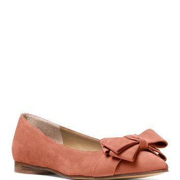 Michael Kors CollectionMarla Pointed Toe Bow Flats