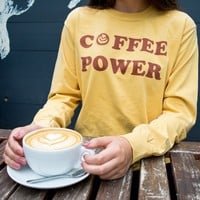Coffee Power Long Sleeve