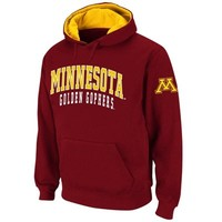 Minnesota Golden Gophers Double Arches Pullover Hoodie - Maroon