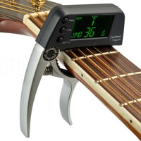 Digital Silver Tuner for Guitar and Bass