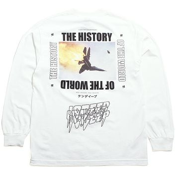 History Of The World Long Sleeve T-Shirt White