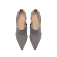 SUEDE POINTED ANKLE BOOT - Shoes - Woman | ZARA United States