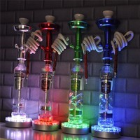 1 Piece/lot Wedding Party Centerpiece Decorating Ideas Hookah LED Base Light