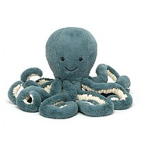 Storm Octopus by JellyCat