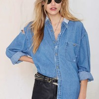 After Party by Nasty Gal Edgefield Shirt