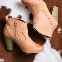 Nixon Ankle Boot, Toffee
