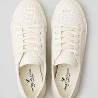 AEO Perforated Sneaker , Chalk
