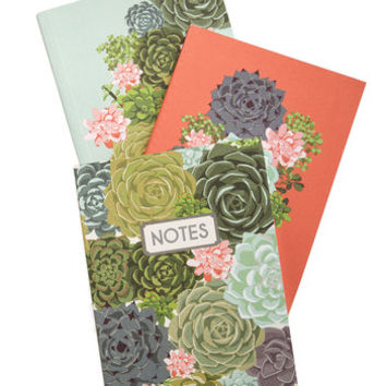 ModCloth Rustic Grows My Mind Notebook Set