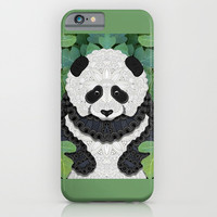 Little Panda iPhone & iPod Case by ArtLovePassion