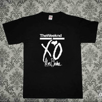the weeknd xo till we overdose black T-shirt