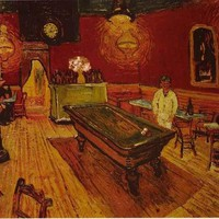 Vincent Van Gogh The Night Cafe Poster 24x36
