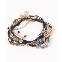 Great Heights Feather Rope Bracelet