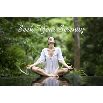 YOGA CLASS inspirational poster SMOOTH FLUID MOVES synchronized spiritual