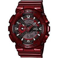 Casio G-Shock Big Case - Metallic Red Case and Strap - Magnetic Resistant