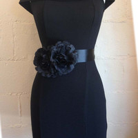 hot party dress, formal dress, Sexy dress, Black fitted dress, Hollywood dress,