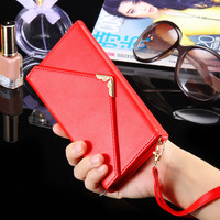 For iPhone 6/6S Wallet Cases Card Slot & Photo Frame PU Leather Case For iPhone 6 4.7 inch / 6S Plus Phone Accessories Fashion