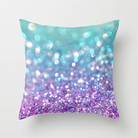 Tango Frost Throw Pillow by Lisa Argyropoulos | Society6
