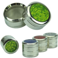 Clear-Top Mini Herb Grinder