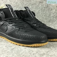Original Nike Lunar Force 1 Duckboot High Black sneaker